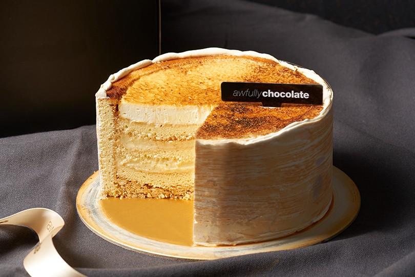 CREME BRULEE CAKE