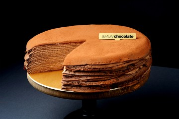 Chocolate Mille Crepe