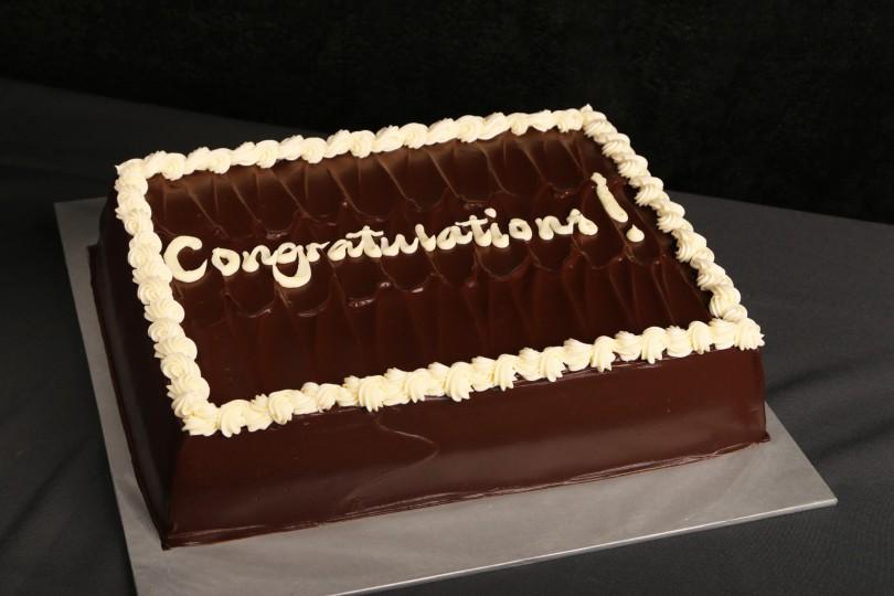 ALL CHOCOLATE CAKE - CUSTOMISED