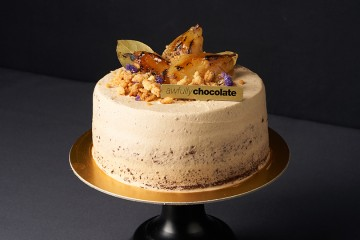 THE POACHED PEAR CAKE