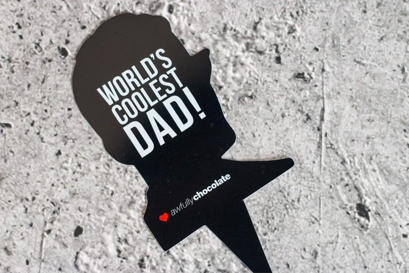 WORLDS COOLEST DAD TOPPER