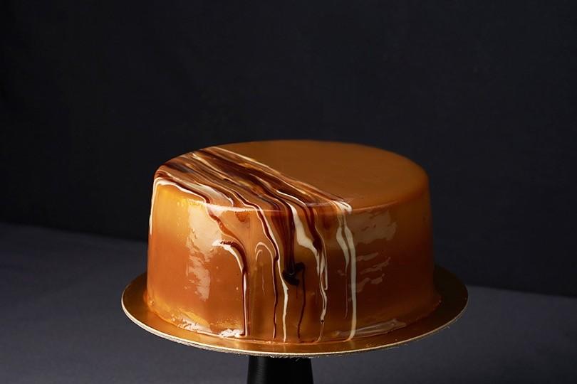 THE CARAMEL LATTE CAKE
