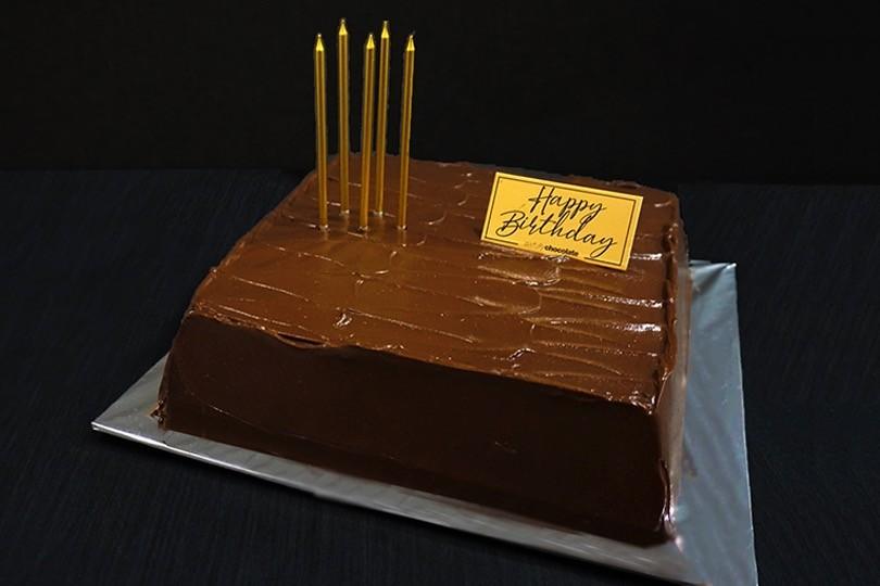 CHOCOLATE RUM & CHERRY CAKE - CUSTOMISED